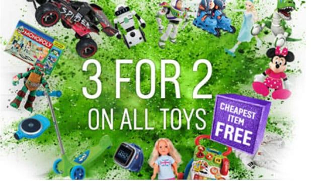 Argos 3 for 2 on Toys Sep 2019 | Money Saver Online