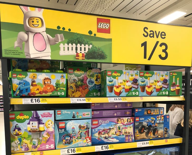 Best From The 13 Off Lego Sale At Tesco Money Saver Online