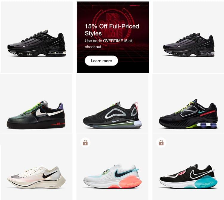 Alrededor visto ropa legislación  Nike Discount Code Off Full Price Trainers Within Cyber Sales – Money Saver  Online
