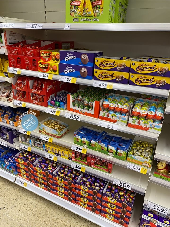 3 Easter Chocolate Treats For 1 At Tesco Money Saver Online