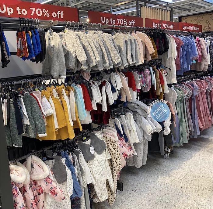 Sainsburys Tu clothing launches at Argos