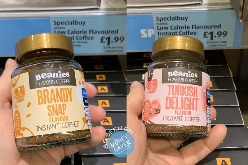 Beanies Coffee Brandy Snap Turkish Delight Flavours At Aldi