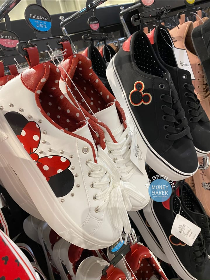 New Ladies Minnie and Mickey Trainers