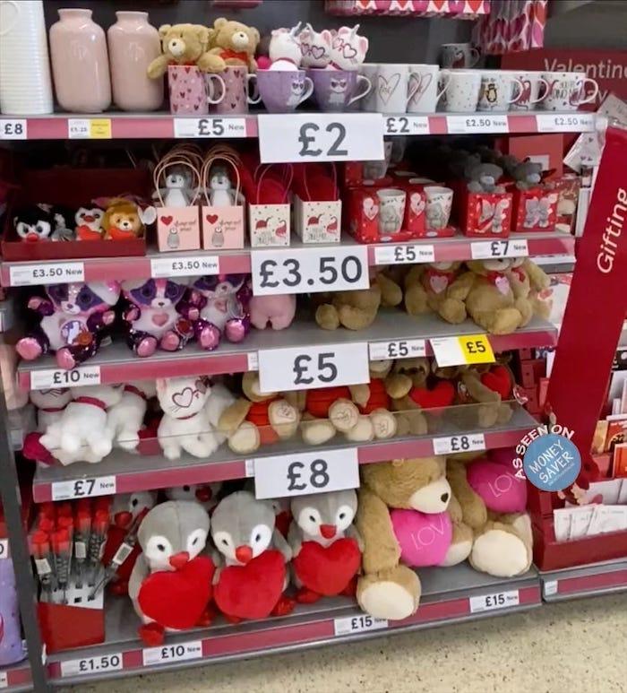 Valentine S Day Gifts Accessories At Tesco Money Saver Online