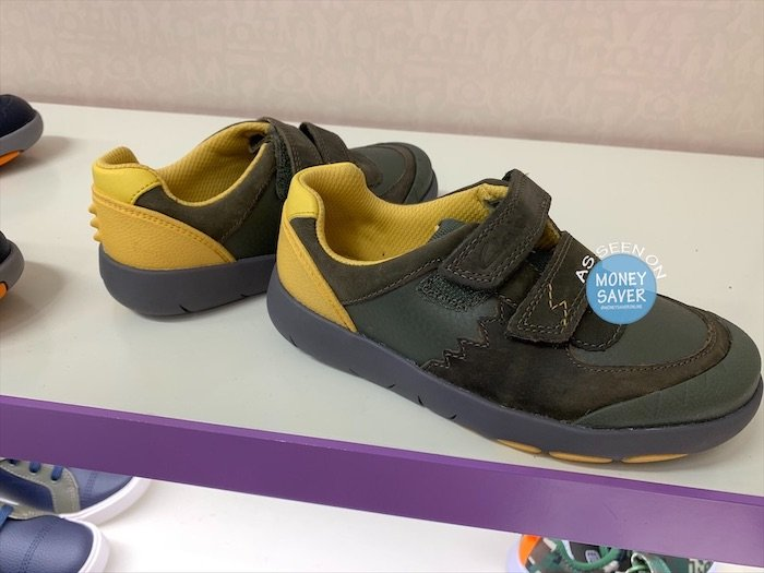 tema formal Tremendo  Clarks Dino Rex Kids Shoes Reduced – Money Saver Online