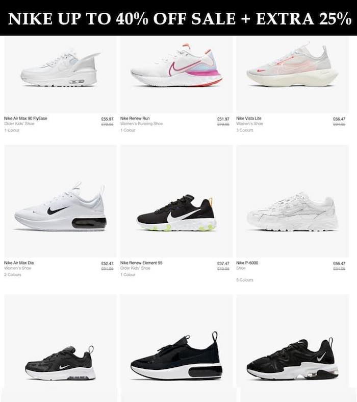 reptiles disfraz pubertad  Nike Up To 40% OFF Sale Plus Extra 25% OFF With Code – Money Saver Online